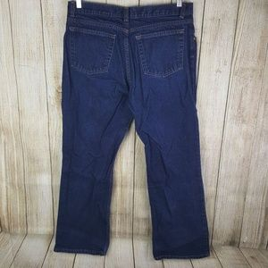 Old Navy Womens Boot Cut Jeans Size 16 Dark Wash